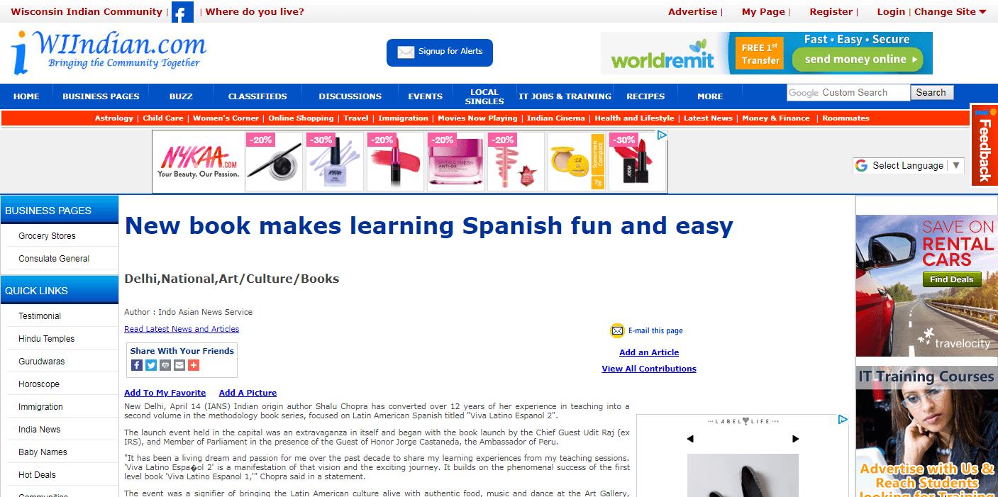 Courses – Mundo Latino